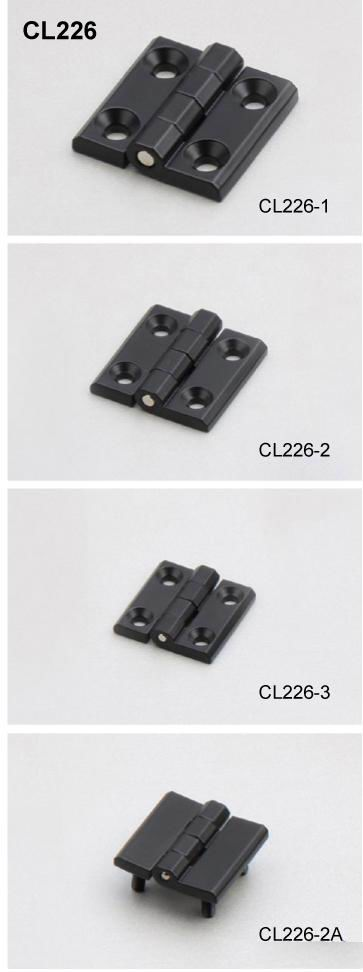 CL226 Zinc Alloy Industrial Panel Cabinet Door Hinge 40*40 50*50 60*60 Screw-on hinge