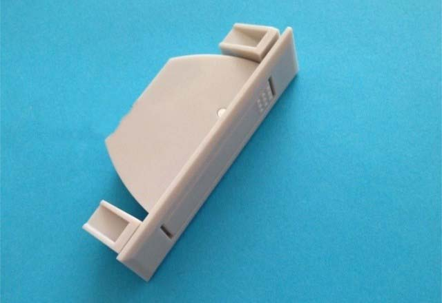 ABS concealed plastic handle industrial cupboard door machinery Handle Grey white