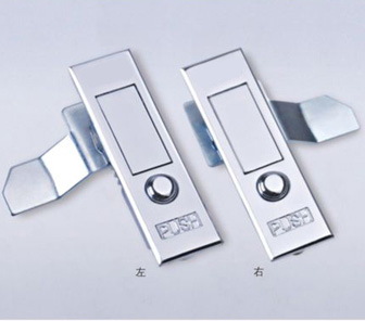 MS503 Keyless Cabinet Locks Push Bottom Plane Lock Fire Hydrant Cabinet  Door Lock
