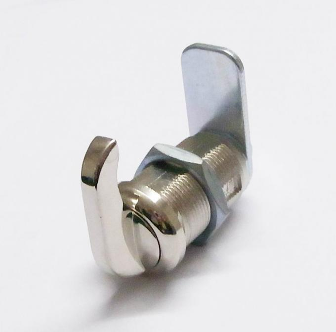 MS412 locks sheet metal cam lock finish Nickel platin for switchboard cabinet