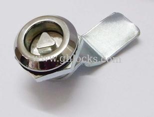 MS705 triangular insert cabinet lock Triangular Cylinder Cam Locks de China