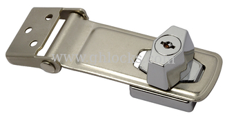 China High Quality Hasp Lock with Knob for Cabinet supplier