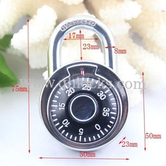 China 50MM Round Dial combination padlock/compass decorated padlock supplier