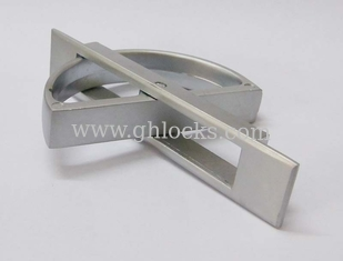 China Hidden Drawer Handle Lock Cabinet Handle Cabinet Rotary Handle for Bedroom Drawer PL005 supplier