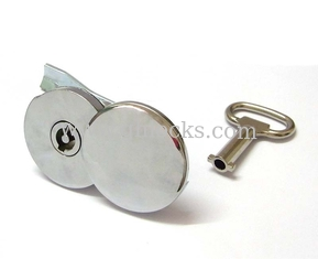 China MS823-1 Butterfly Key Hole Cover Protective Super Zinc Cylinder Lock Waterproof Cam Locks supplier