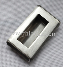 China Stainless steel embedded flush pull hand chest drawer machinery equipment Handle supplier