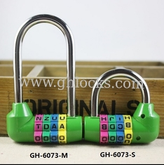 China 4 Digital Long Bar English Letter Combination lock Long anti-theft Combination Code lock supplier