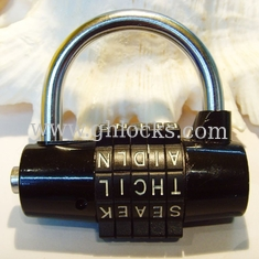 English alphabet Luggage Combination Lock from China