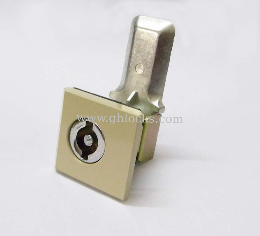 Electronic cylinder lock ms813 quarter turn cabinet cam for Cam lock kitchen cabinets