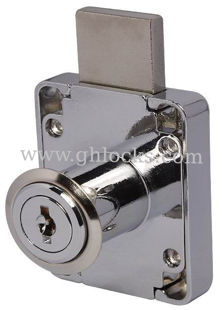 Desk drawer locks type with