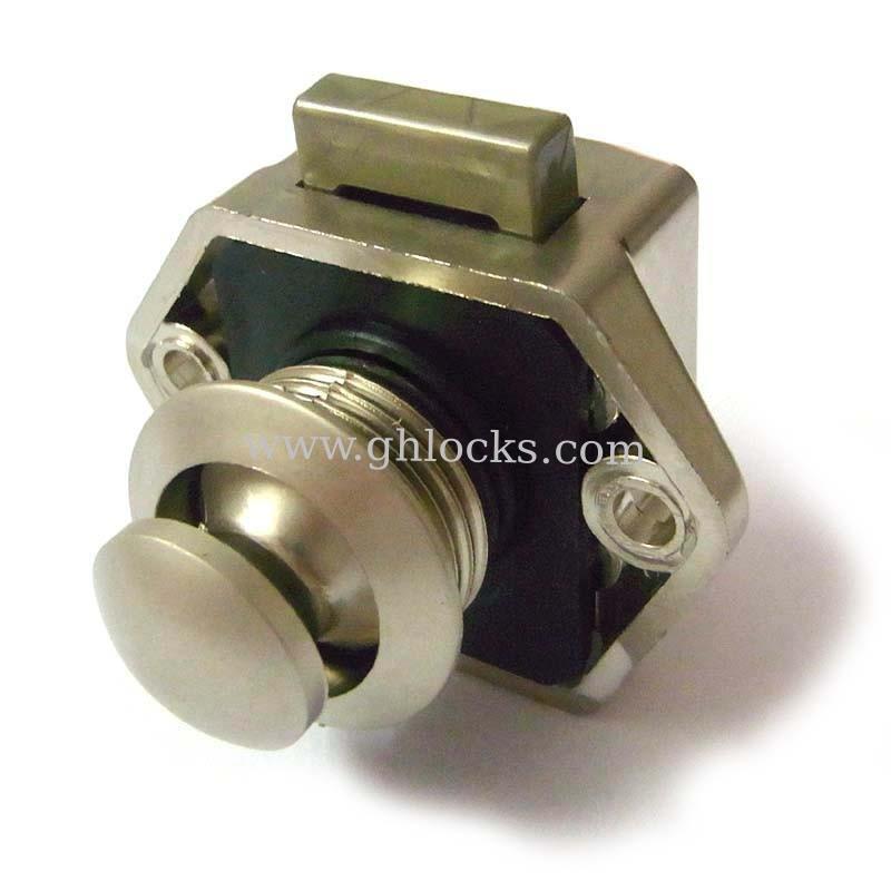 push button lock for caravan push button cabinet latch for rv