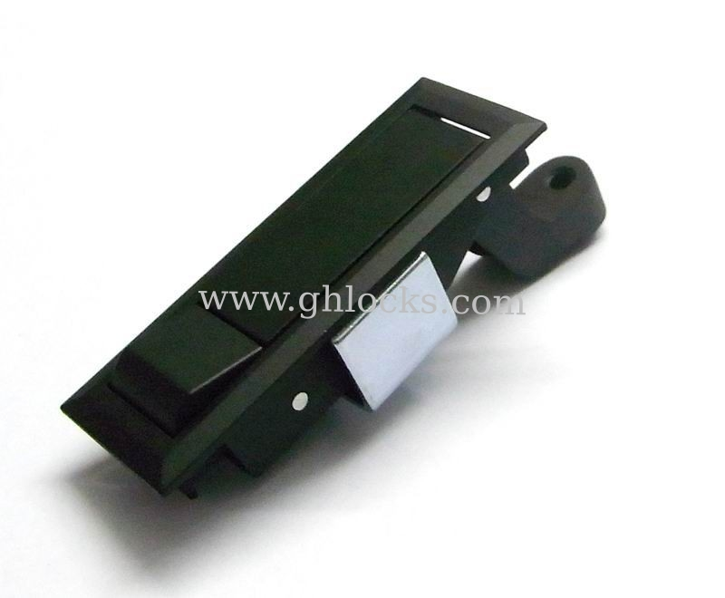 push button cabinet lock swing handle lock cabinet panel door lock ms723 push to open lock