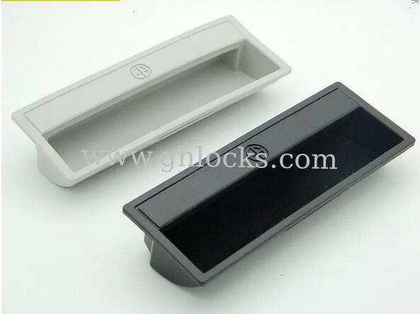 PL011 Plastic Furniture Cabinet Pulls,recessed Flush Handles,concealed Flush  Pull Handle