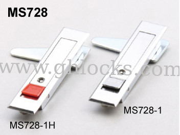 ms728 push button locks for industries fire hydrant cabinet door lock control box lock