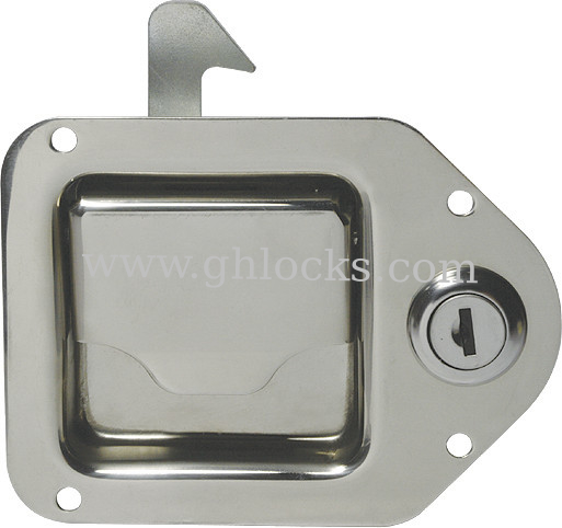 High Quality Recessed Paddle Lock Cabinet Paddle Latch