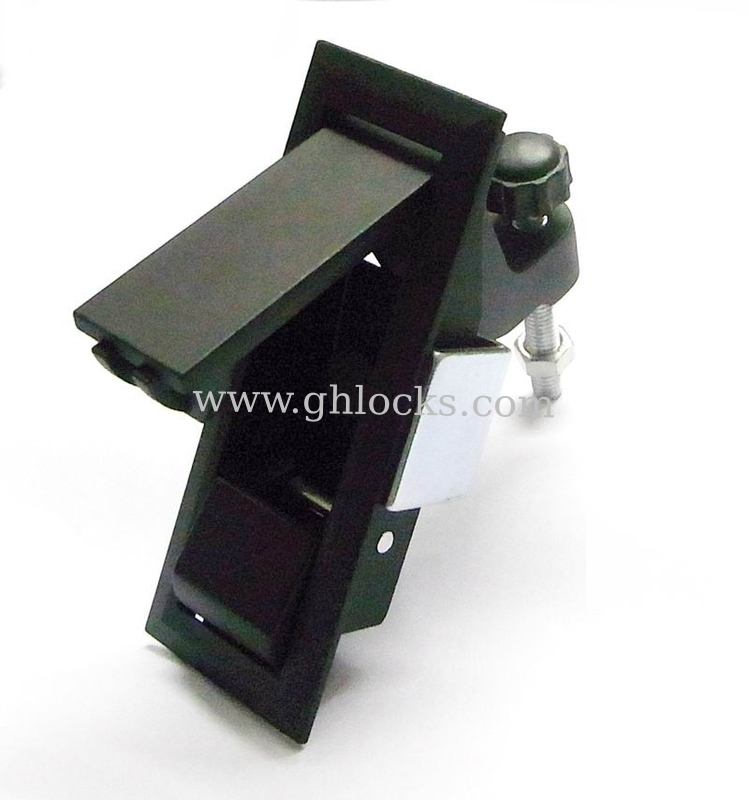 Push to Open Lock without key Push Button Cabinet lock MS723 Black ...