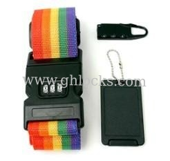 Luggage Combination Lock and Belt Combination Gift Set
