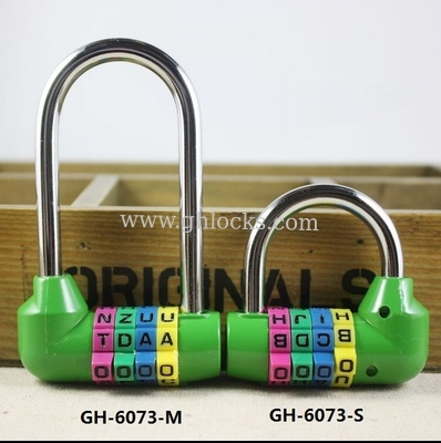 4 Digital Long Bar English Letter Combination lock Long anti-theft Combination Code lock