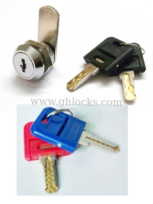 Master Key System Flat Key Cam Locks for Drawer Intel Box with Change Cylinder System