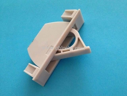 ABS concealed plastic handle industrial cupboard door machinery Handle Grey white